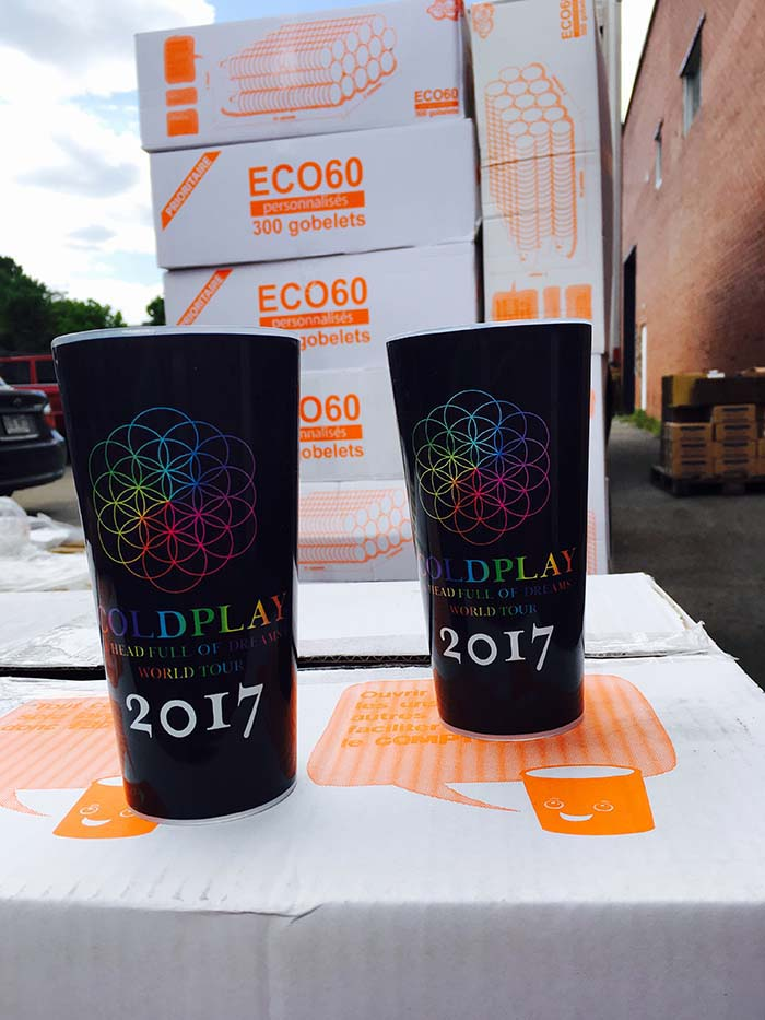 coldplay ecocup