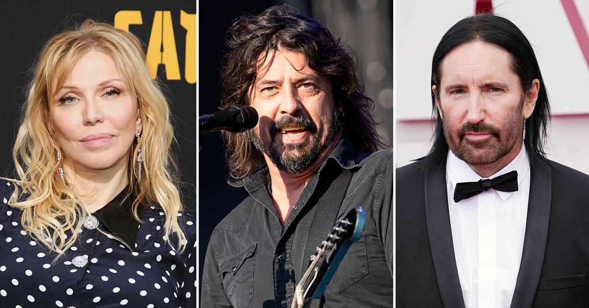 courtney love dave grohl trent reznor