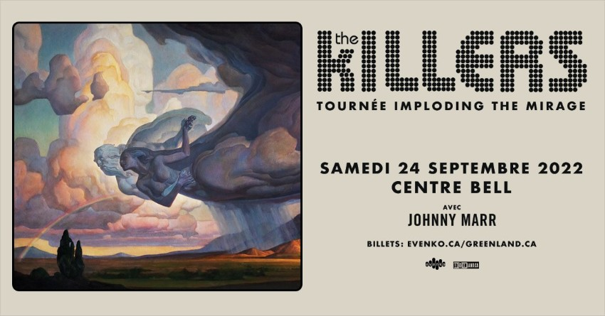 the killers montreal 2022